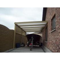 Rechte carport L800xB400