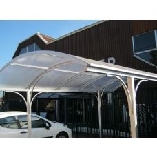 Carport Comfort Line lengte 485cm x breedte 300cm, wit